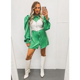 Camisa Alongada verde