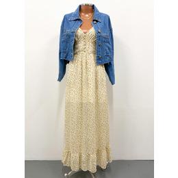 Vestido Celine girassol