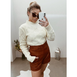 Blusão Ana Rita cream