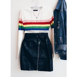 Blusa rainbow off
