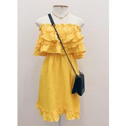 Vestido Gabi amarelo