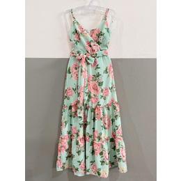 Vestido Floral menta