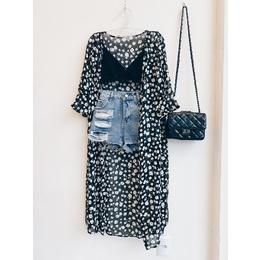 Kimono P&B black