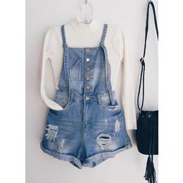 Jardineira jeans Loli