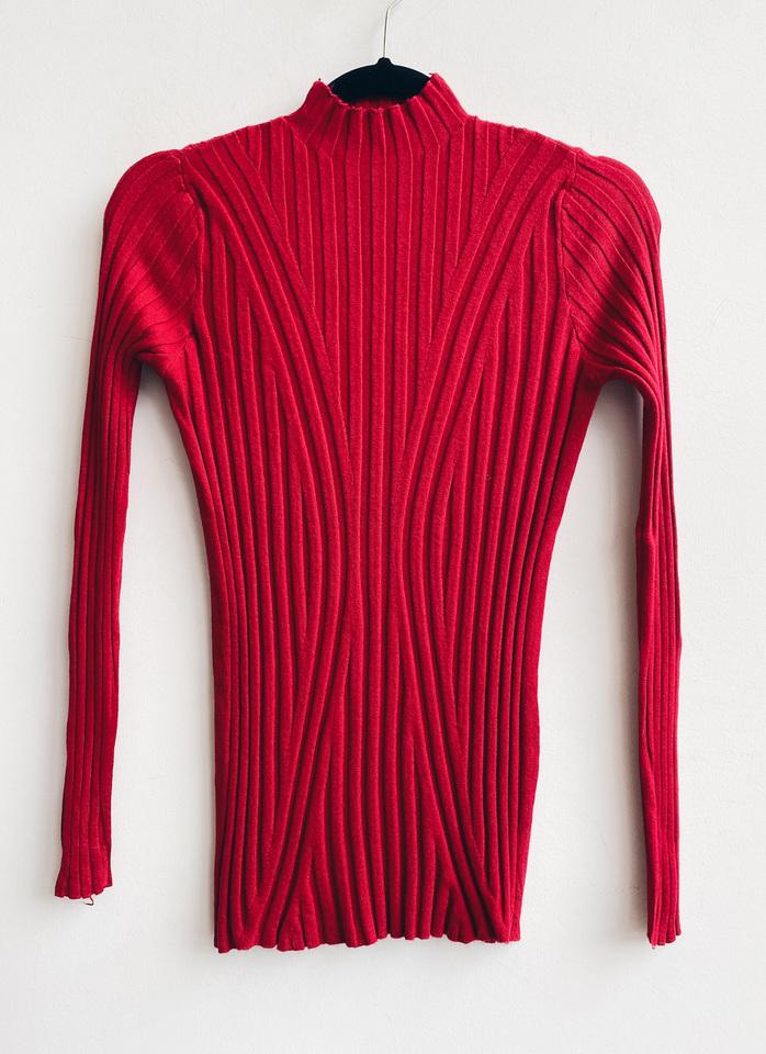 Blusa lã onda red