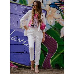 Calça alfaiataria branca
