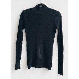 Blusa lã V black