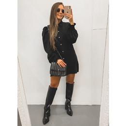 Camisa Alongada black