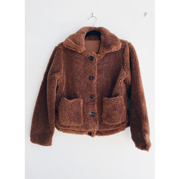 Mini jacket ted caramelo