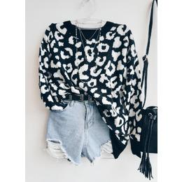 Blusão tricô onça black