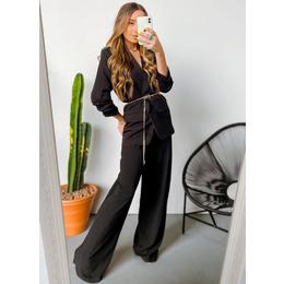 Calça pantalona black