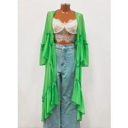 Kimono Amélia verde
