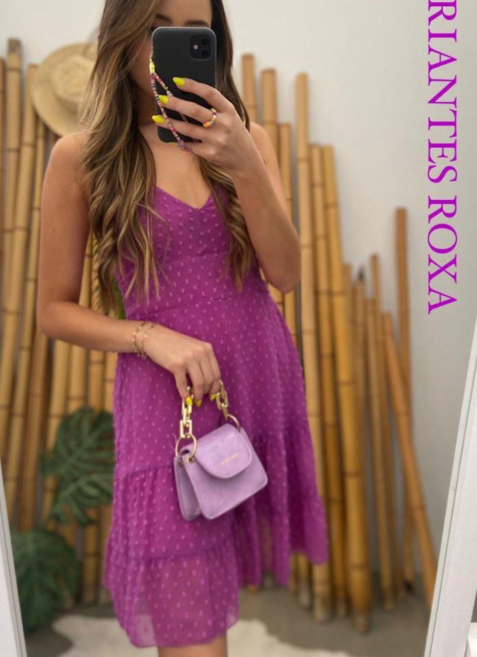 Vestido Stella Roxo