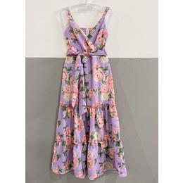 Vestido Floral lilas