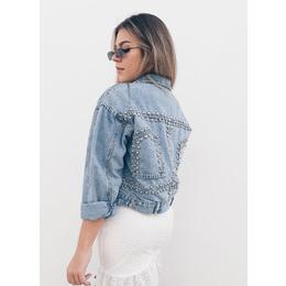 Jaqueta jeans over Lu
