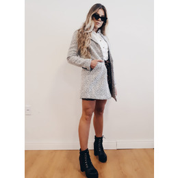 Maxi Blazer lã