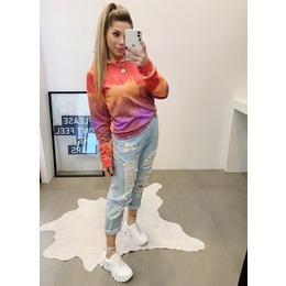 Blusão tie dye color