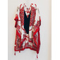 Kimono lenço red