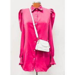 Camisa Alongada pink