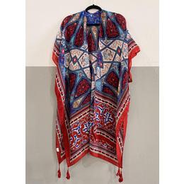 Kimono lenço blue