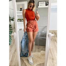 Shorts cinto duplo carmel