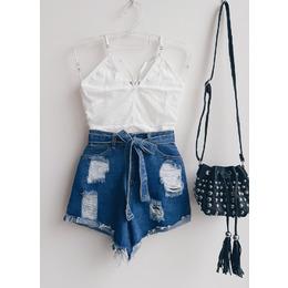 Shorts jeans Zoe blue