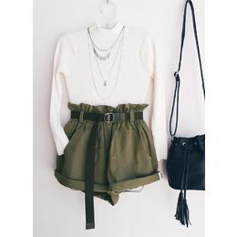 Shorts cargo verde