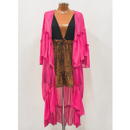 Kimono Amélia pink