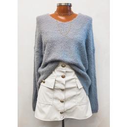 Blusão pelinho blue