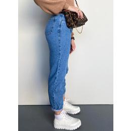 Calça baggy jeans clara