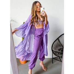 Kimono Amélia lilás