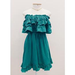 Vestido Gabi esmeralda