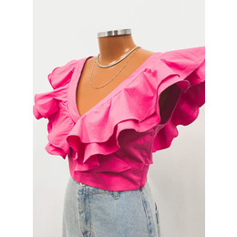 Cropped Sophie Pink