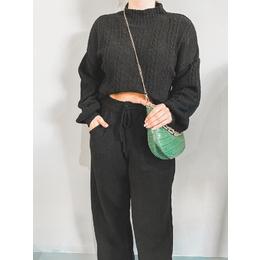 Conjunto tricô black