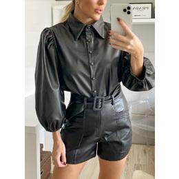 Shorts couro black