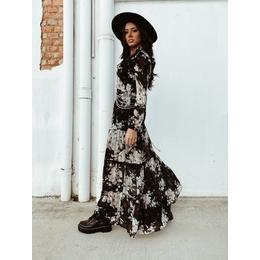 Vestido boho black