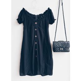 Vestido bata Cali black