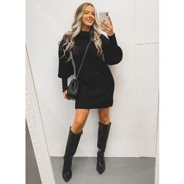 Mini dress tricô black