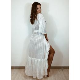 Maxi kimono branco