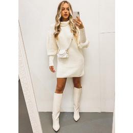 Mini dress tricô off