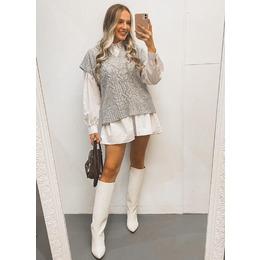 Camisa dress branca