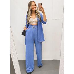 Calça pantalona blue