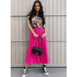 Calça pantacourt Pink