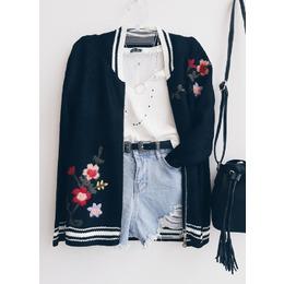 Casaco bordado black