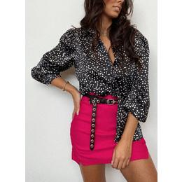 Shorts saia bengaline pink