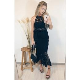 Vestido Grécia black