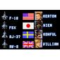 Cartucho Aero Fighters para Super Nintendo