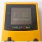 Console GameBoy Color Amarelo Completo - 2 Jogos + Pilhas