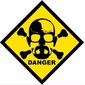 Placa De Parede Decorativa Heisenberg Danger