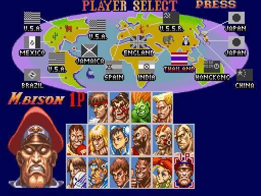 Cartucho Super Street Fighter 2: The New Challengers para Super Nintendo